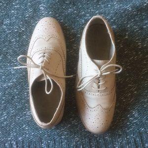 Blush Oxford Shoes FINAL PRICE
